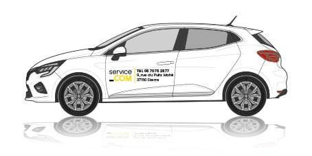 Notre gamme véhicule léger : covering basique